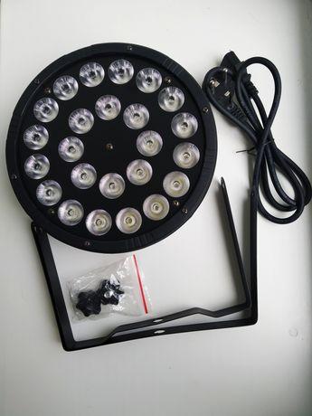 Светодиодный прожектор RGBW LED Par Light 24*12