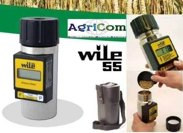 Wilgotnościomierz WILE / Miernik Tester wilgotności zboża WILE 55