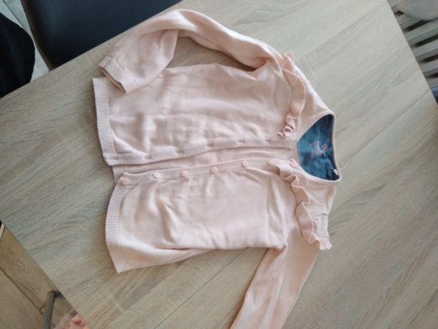 Sweterek dziewczynka 98/104
