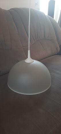 LAMPA wisząca kolor mleczny