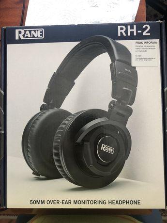 Headphones DJ NOVOS Rane RH-2 com GARANTIA ate 2022