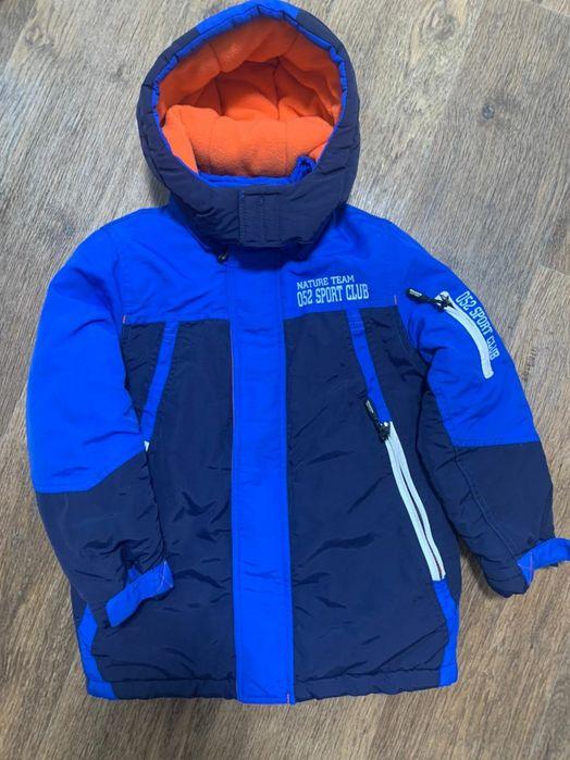 Зимняя термо куртка на мальчика, р. 104/110 Николаев Жовтневый - изображение 1