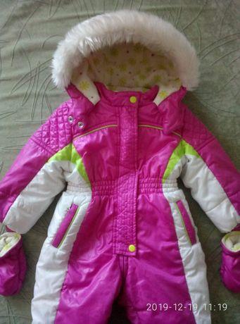 Детский зимний термокомбинезон chicco