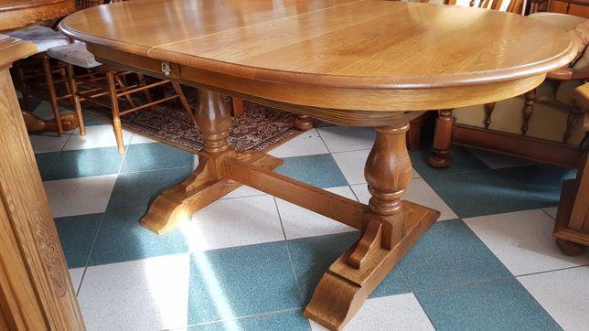 Debowy stoł  100% rozkładany 340cm