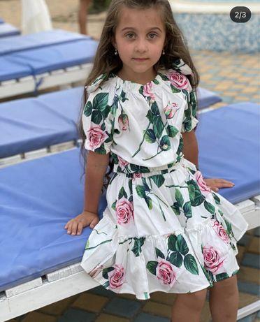 Костюм для девочки,платье.