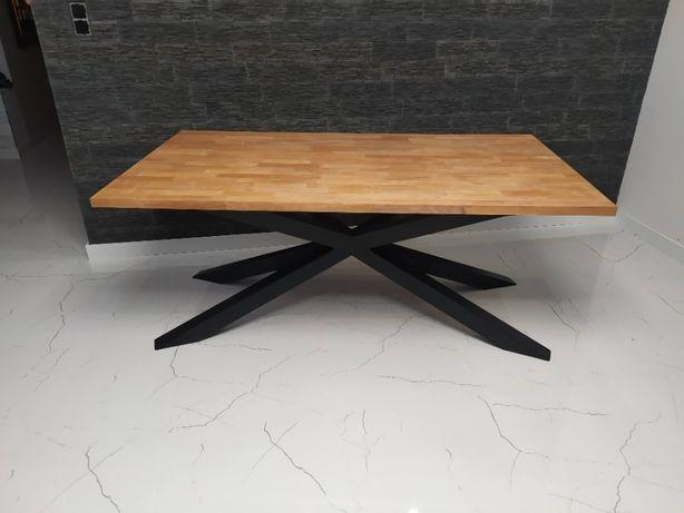 Stół industrialny loft pająk