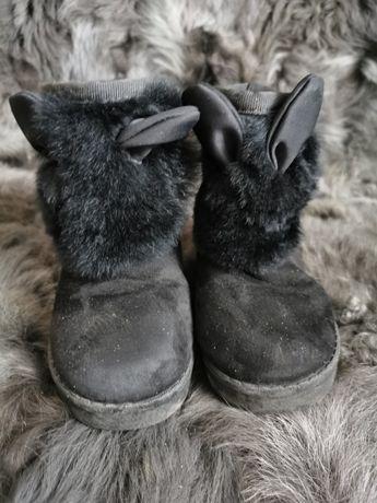 Ciepłe zimowe buciki króliczki 24