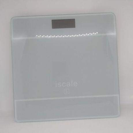 Нова електронна вага для зважування iscale до 180 кг колір сірий