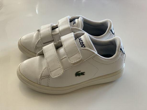 Lacoste buty sportowe skóra 25