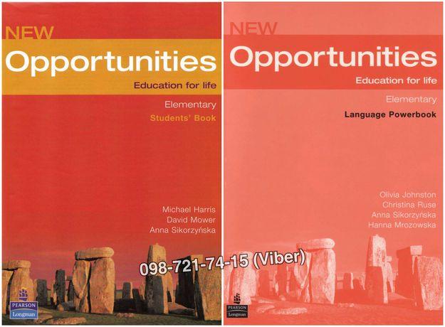New Opportunities - Elementary (Учебник + Тетрадь + Audio)