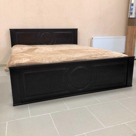 Ліжко дерев'яне Кровать деревянная Ліжка дерев'яні Кровати деревянные