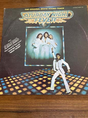 LP vinil duplo saturday night fever banda sonora do filme