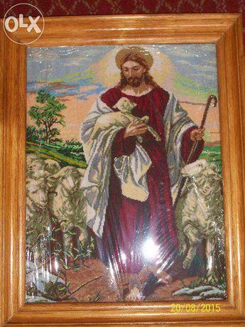 Образ Ісус з ягнятами.