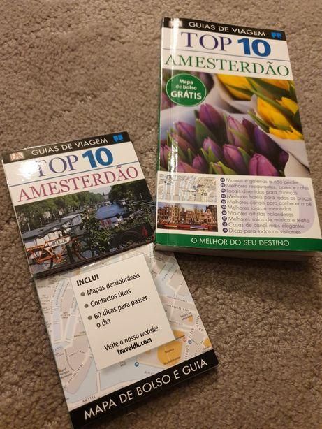 Top Ten Amesterdão + Mapa de Bolso