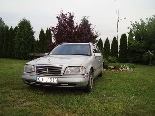 Mercedes C klasa wersja elegance 2,5 TD 1997 rok okazja