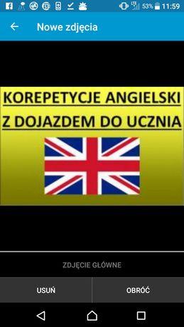 Język angielski korepetycję domowe i ONLINE !!!