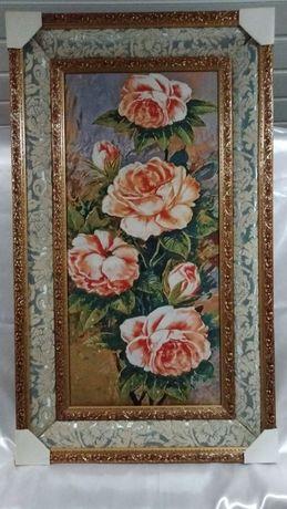 "Картина гобелен "" Букет цветов""."