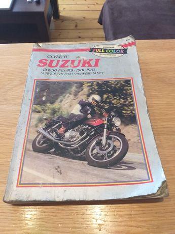 Książka serwisowa clymer Suzuki GS 650