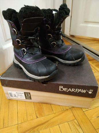 Натуральные зимние ботинки BEARPAW US-13 EUR- 30