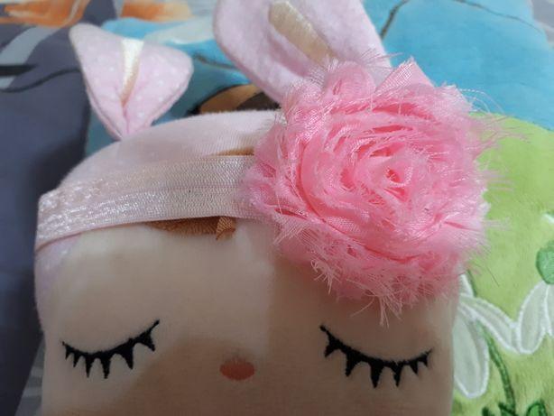 Opaska kwiatek dla dziewczynki