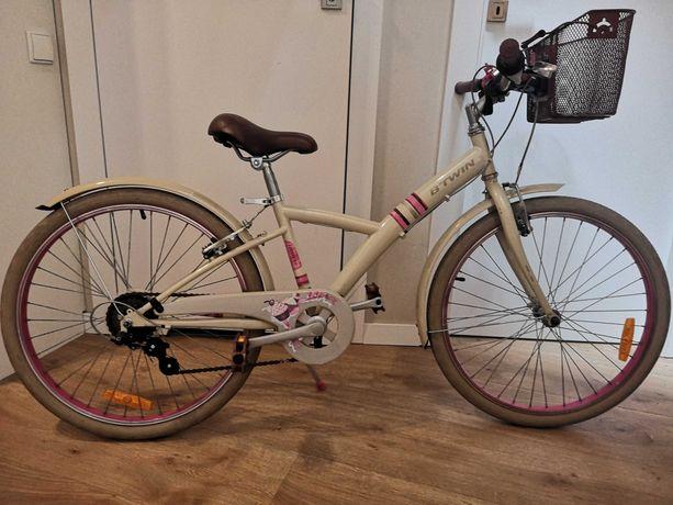 Rower dziewczęcy 24 cali - sprzedam