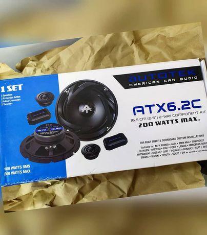 Компонентная акустика AVTOTEK ATX 6.2C