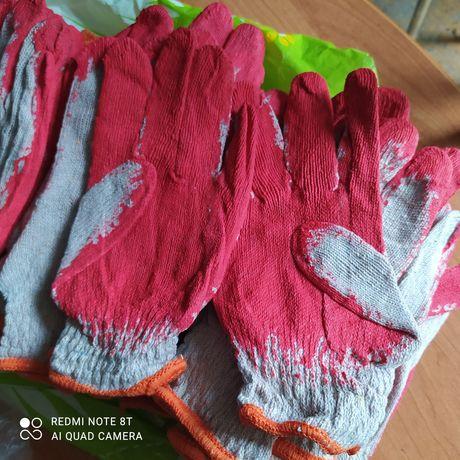 rękawiczki ogrodnicze gumowane