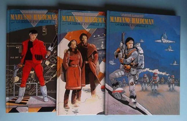 Marvano & Haldeman - La guerre éternelle - 3 vols (completa)