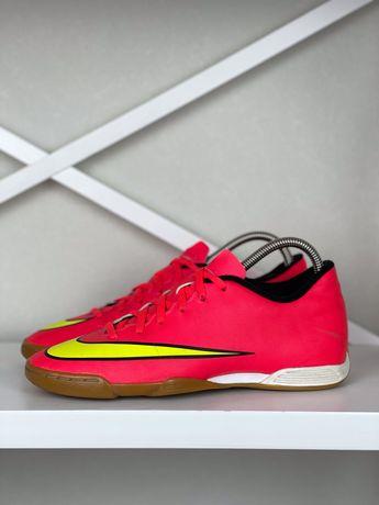 Футзалки Nike Mercurial original 41 бампы копы яркие футбольные 26см