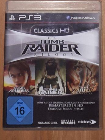 Super trylogia, gra na Playstation3 (ps3), Tomb raider trilogy