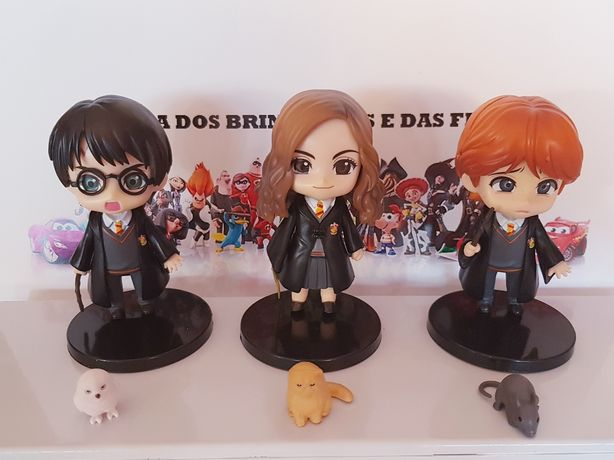 Conjunto 6 pcs Figuras Harry Potter (Portes Incluídos)