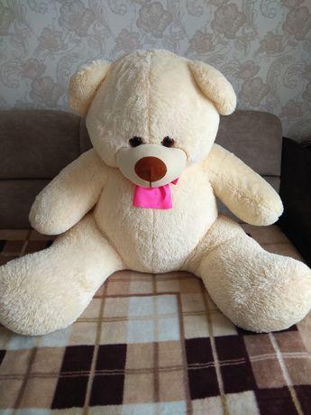 Мягкая игрушка, большой медведь