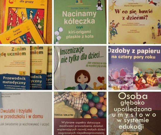 Książki nauczyciel przedszkola, pedagog specjalny
