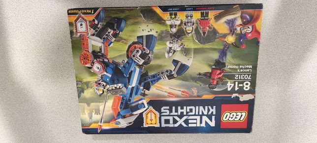 Nexo Knighst LEGO 70312 mechaniczny koń leance