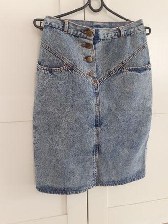 Jeansowa spódnica XS