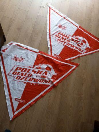 Pamiatkowe flagi polski bialo czerwoni