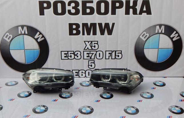 Фари правая левая BMW X5 F15 Csenon Фари права ліва БМВ Х5 Ф15 ксенон