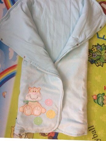 Детское одеяло конверт Тигрес