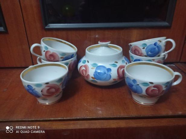 Продам чайный сервиз времён СССР