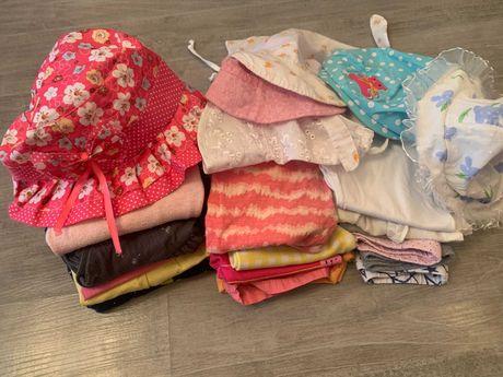 Пакет летней одежды для девочки, р. 1-2 года