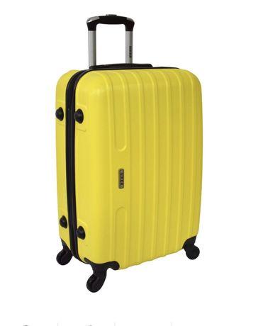 Чемодан Siker Line большой желтый