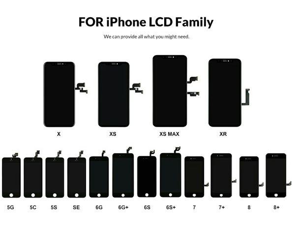 Екран Iphone 6/6s/7/7 Plus/ОПТ/White/Black/Модуль/ОПТ/LCD