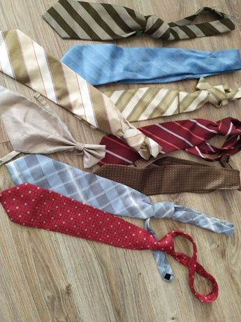 Zestaw krawatów - krawat na rozne okazje