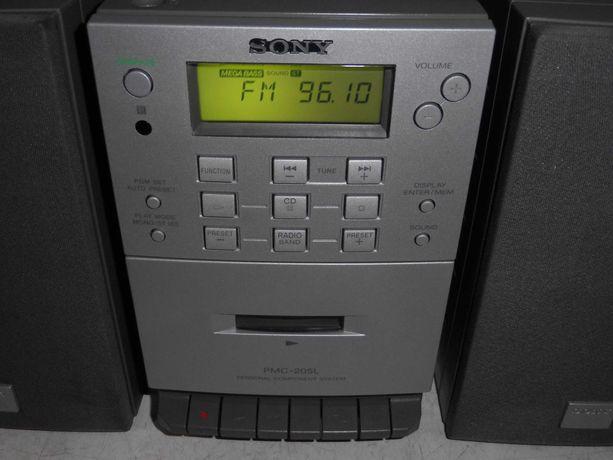 Mini Wieża SONY Cd Audio Fm/Am Bass Fajny Model
