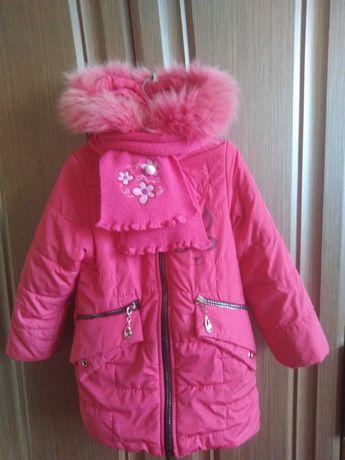 куртка  зимова  3-4 роки