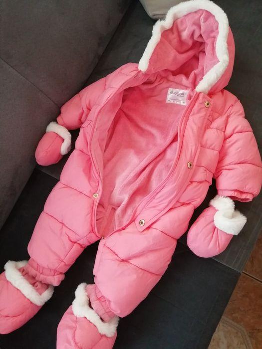 Sprzedam kombinezon zimowy niemowlęcy r. 68!! Morąg - image 1