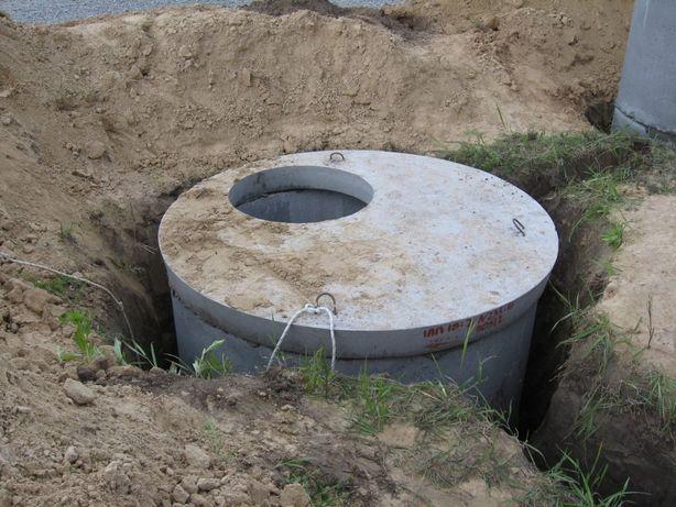 Канализация, бетонні кільця, септики