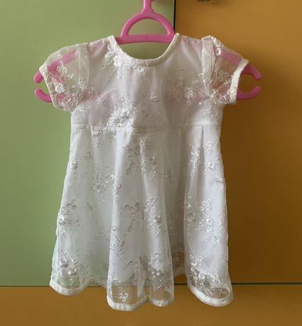 Дуже ніжне плаття Бембі 62 зріст( можна на хрестини)