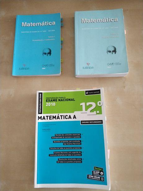 Livros Matemática A 12° ano