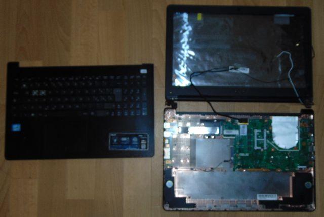 Ноутбук Asus X502 по частям (разборка)